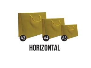 Horizontal Paper Bags