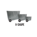 V-shape Paper Bags
