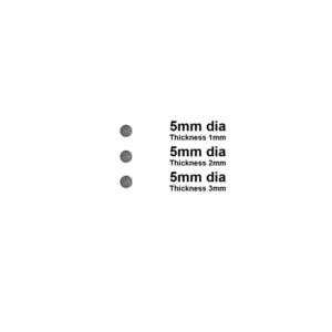 5mm Round Disk Magnet