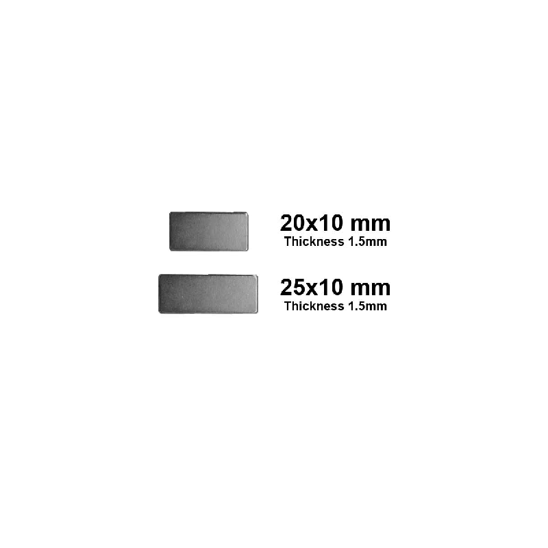 Rectangular Disk Magnet