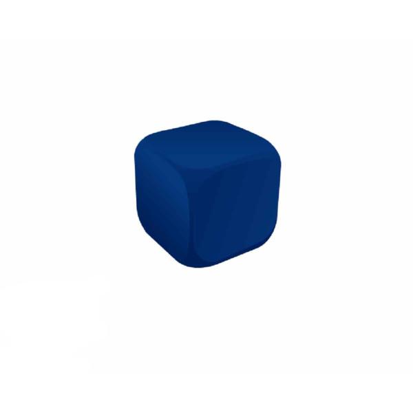 Cube Blue Stress Ball