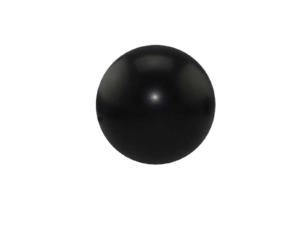 Round Black Stress Ball