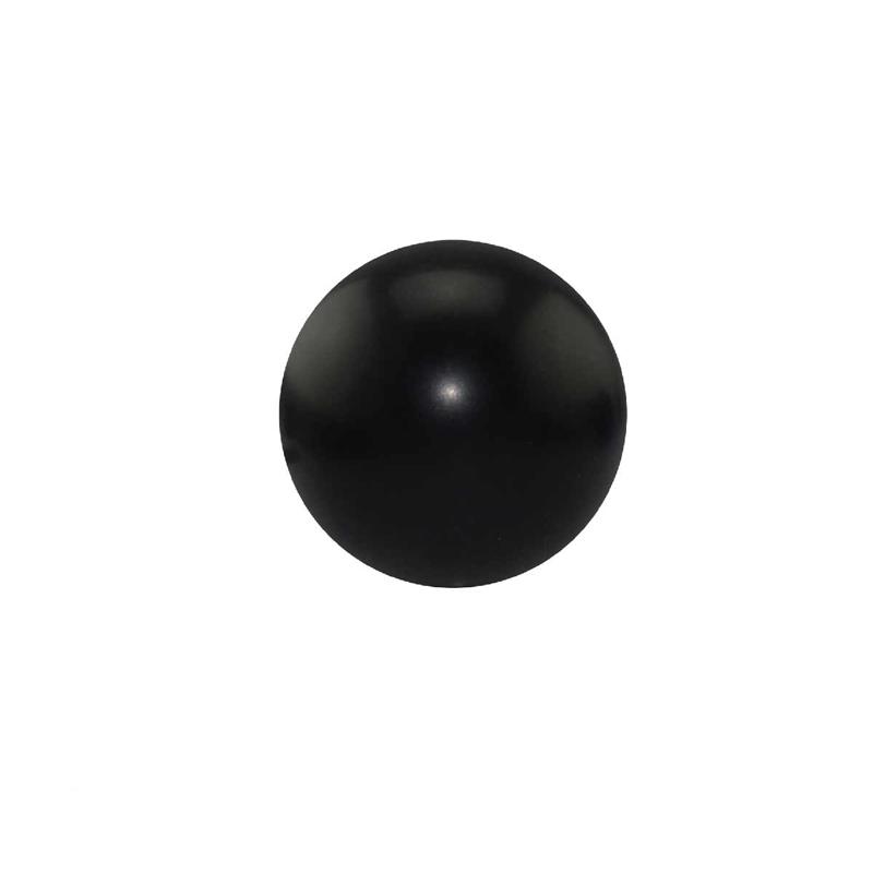 Round Black Stress Ball