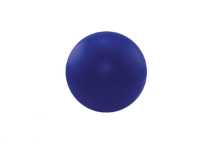 Round Blue Stress Ball