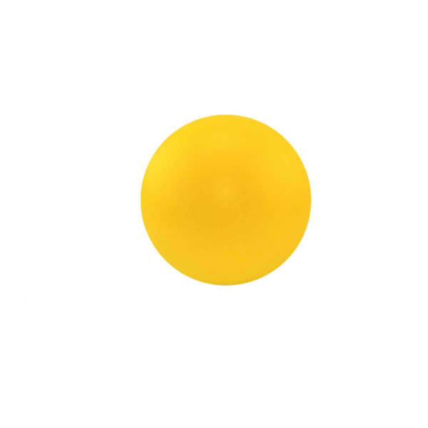 Round Yellow Stress Ball