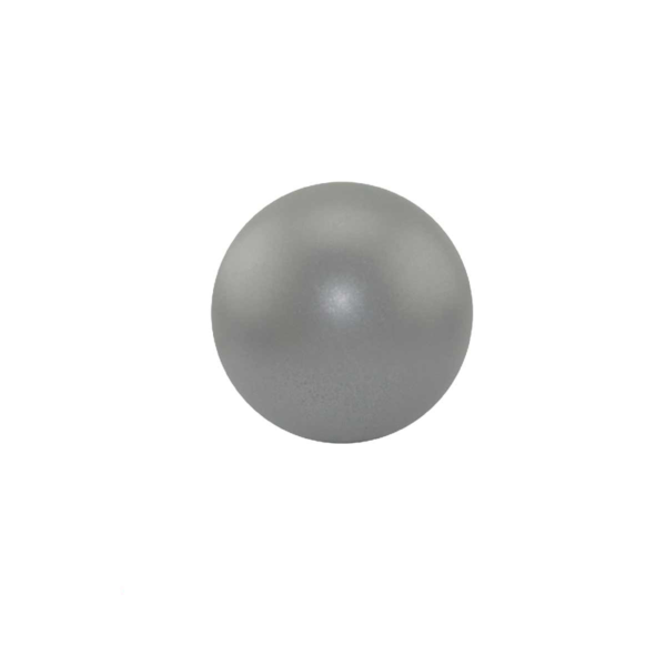 Round Silver Stress Ball