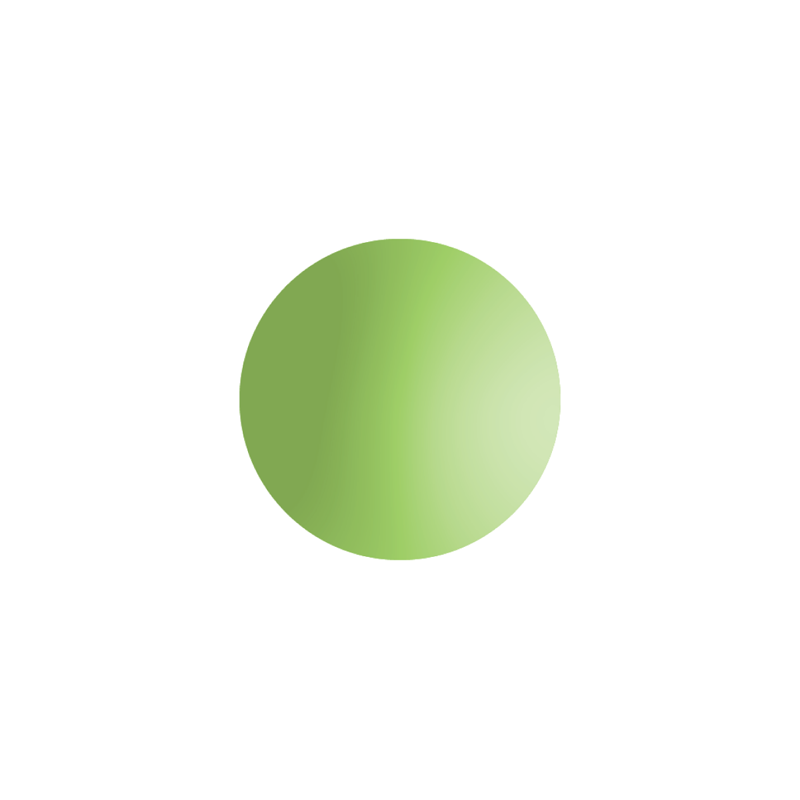 Round Lime Stress Ball