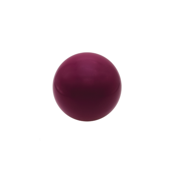 Round Maroon Stress Ball