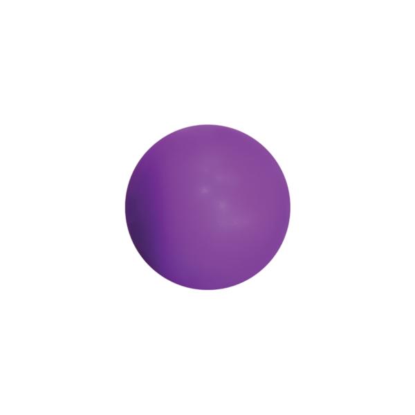 Round Purple Stress Ball