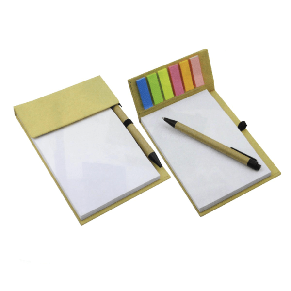 Notepad With Page Markers