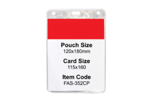 Oversize Pvc Id Pouch