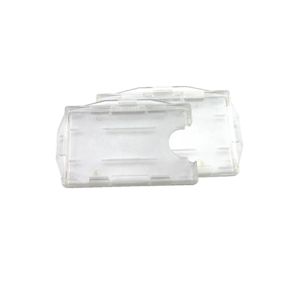 Front Open Twin Card Holder