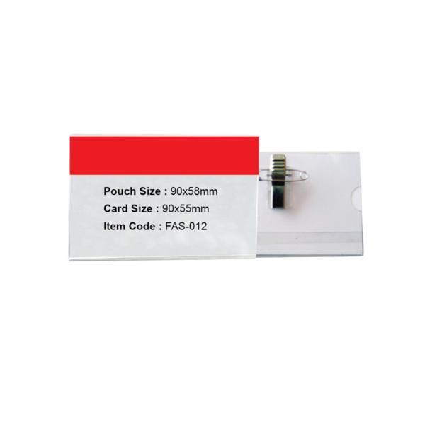 Pvc Name Card Holder