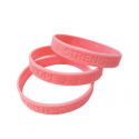 Breast Cancer Silicone Wristband
