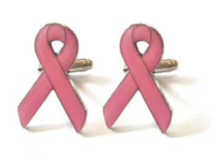 Breast Cancer Cufflink