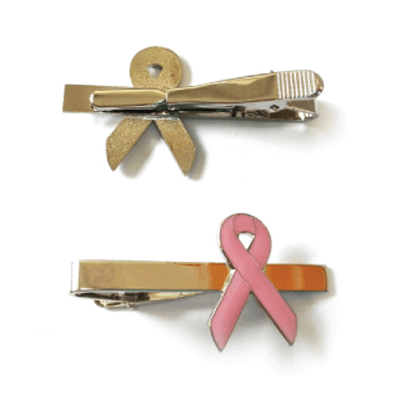 Breast Cancer Tie Pins