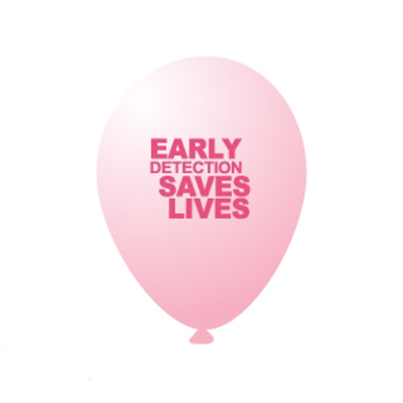 Breast Cancer Balloons