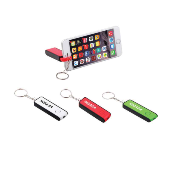 3-in-1 Led Keychain & Mobile Stand