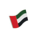 UAE Flag Badge