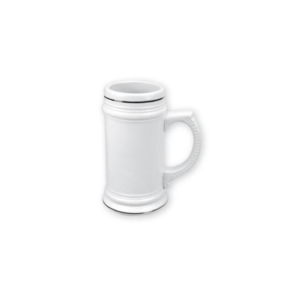 German Beer Mugs White 20 oz
