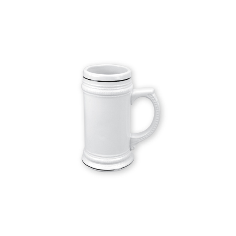 German Beer Mugs White 20 oz