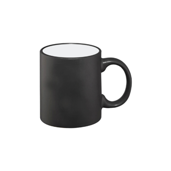 Color Changing Mugs Black - Matt finish