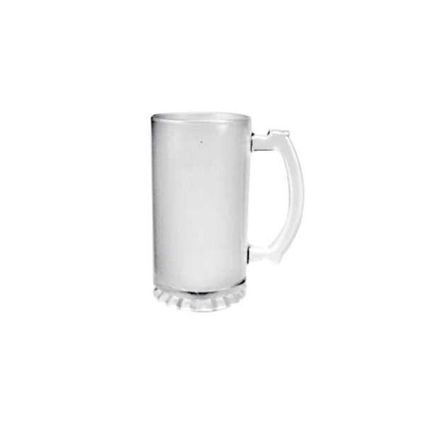 Frosted Glass Beer Mugs