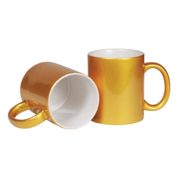 Promotional Mugs Gold