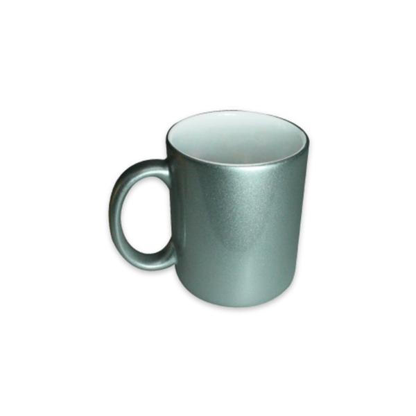 Promotional Mugs - Silver