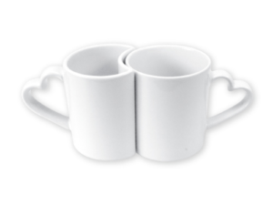 Love Mugs White 11 oz