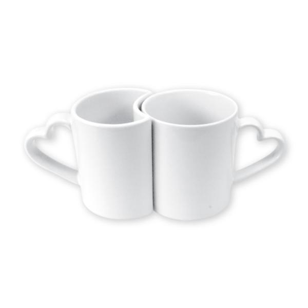 Love Mugs White 11 oz