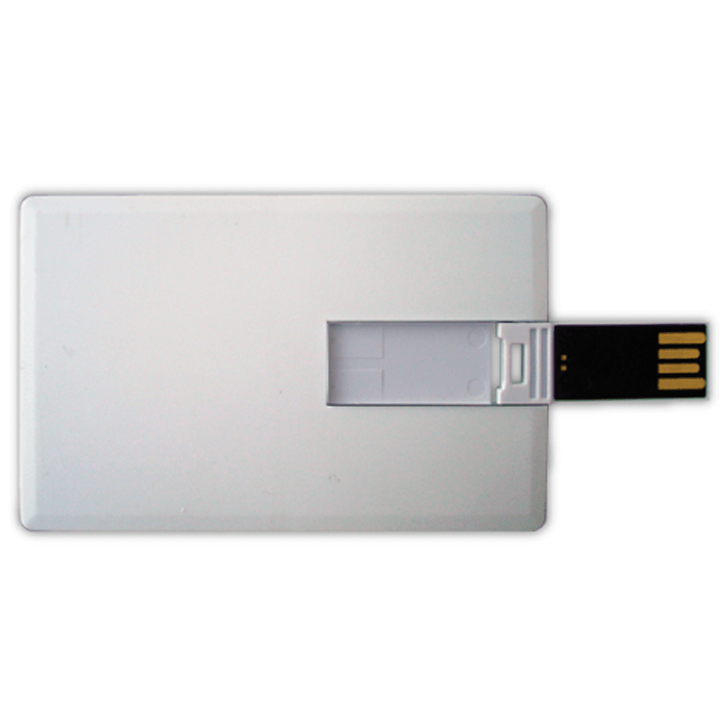 Card Shaped USB Flash Drives 8GB