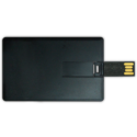 Card Shaped USB Flash Drives 4GB – Black