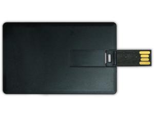 Card Shaped USB Flash Drives 4GB - Black