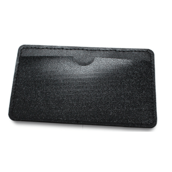 Leather Cover for Card Shaped USB Black