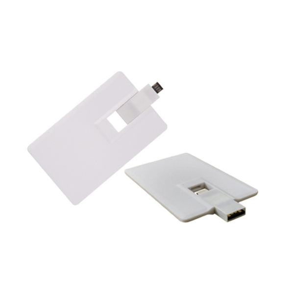 Mobile card shaped USB Flash Drives 4GB