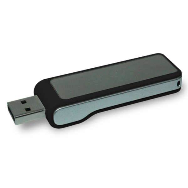 USB Flash Drives Digital logo color changing 8GB - Black