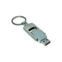 Flip Style Metal USB Flash Drives 4GB