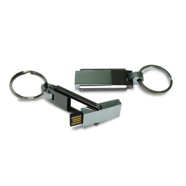 Metal Keychain USB Flash Drives 4GB