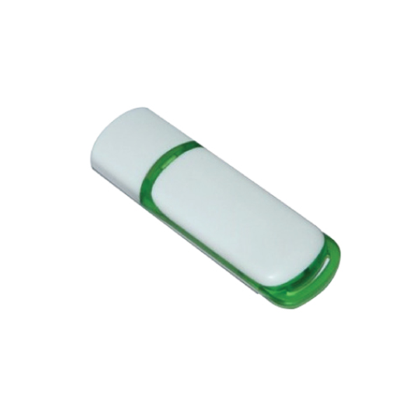 USB Flash Drives 8GB - White and Green