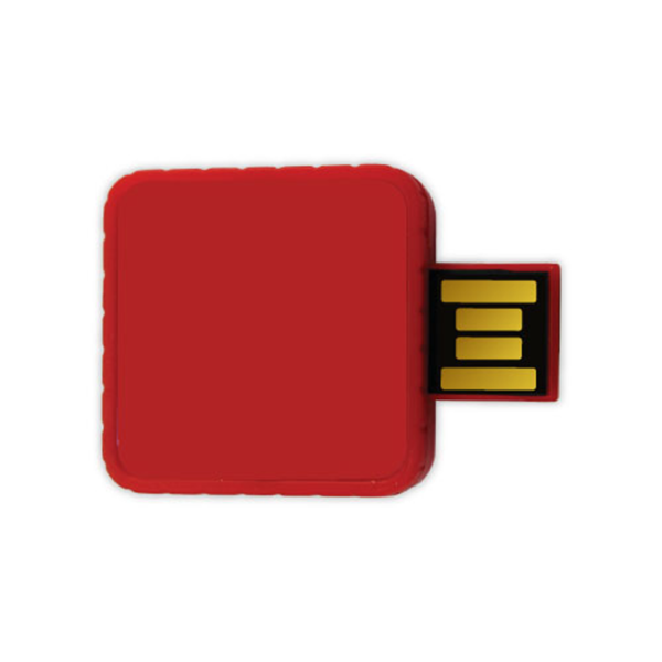 Twister USB Flash Drives - Red Color