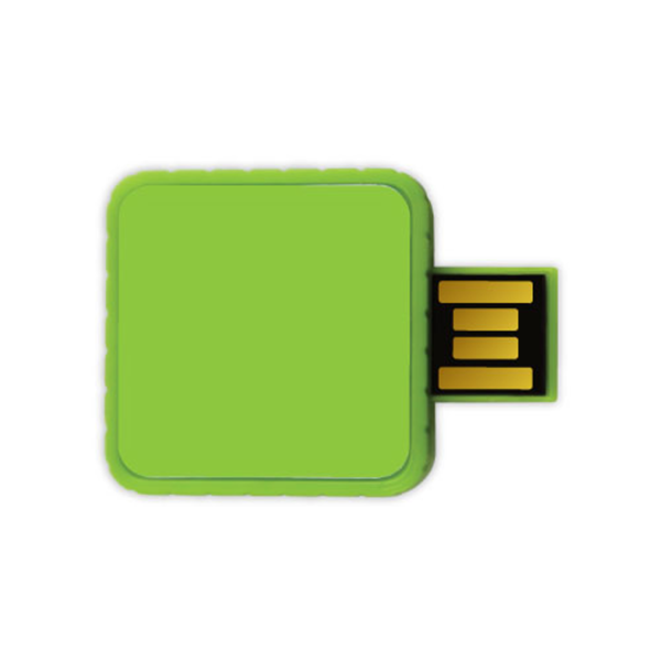 Twister USB Flash Drives - Green Color