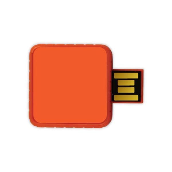 Twister USB Flash Drives - Orange Color