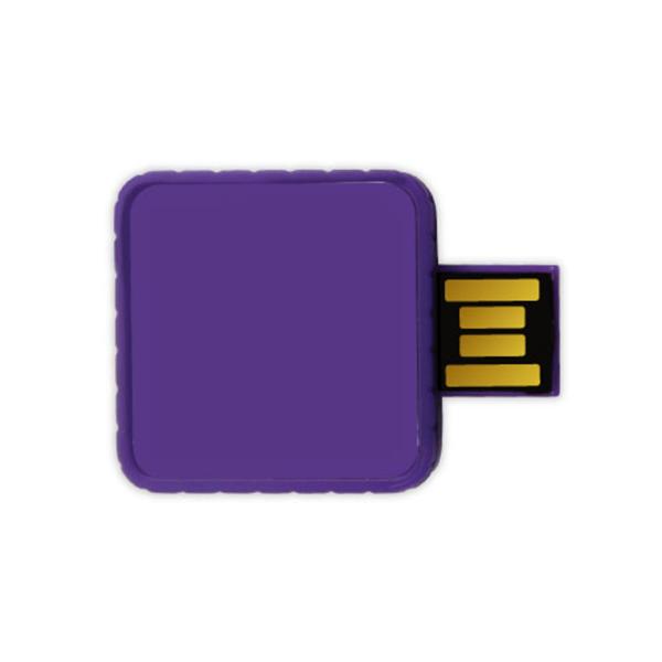 Twister USB Flash Drives - Purple Color