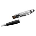 Crystal Pens USB Flash Drives – 4GB Black