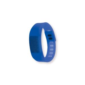 Wristband with Digital Watch Orange