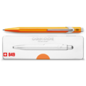849 Fluorescent Orange Ballpoint Pen ( with Box )