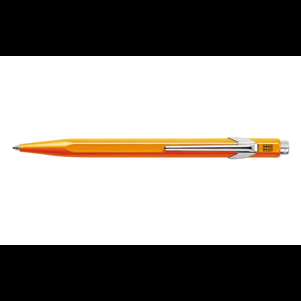 849 Fluorescent Orange Ballpoint Pen ( without Box )