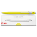 849 Fluorescent Yellow Ballpoint Pen ( with Box )