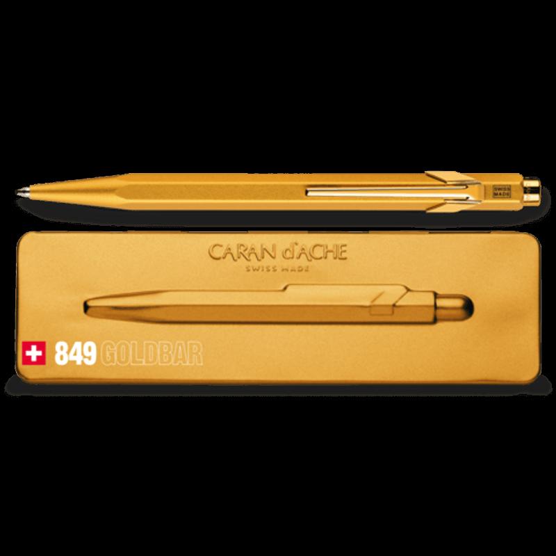 849 Goldbar Ballpoint Pen